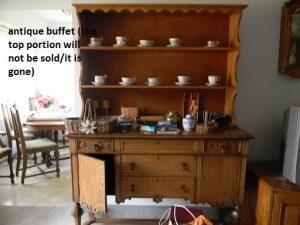 antique buffet
