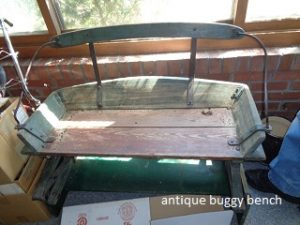 buggy bench