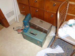 vintage tool boxes