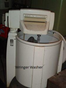 wringer washing machine