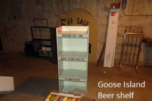 Goose Island shelf