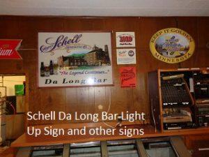 Schells Da Long Bar Sign