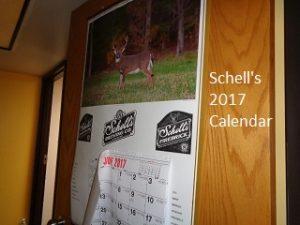 Schell's calendar