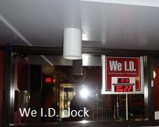 We I.D. clock