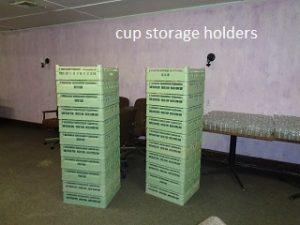 cup storage holders