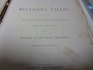 minnesota valley sioux uprising inside book