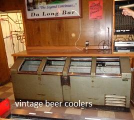 vintage beer coolers